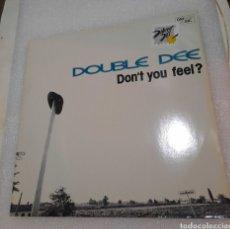 Discos de vinilo: DOUBLE DEE - DON'T YOU FEEL?. Lote 219131847