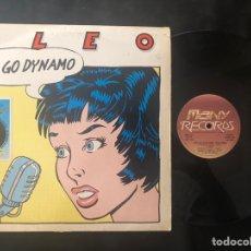 Discos de vinilo: CLEO – GO GO DYNAMO ITALO-DISCO 1986. Lote 219131950