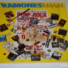 Discos de vinilo: DISCO LP VINILO DOBLE RAMONESMANIA RAMONES MANIA 1988. Lote 219133156
