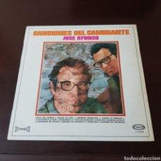 Disques de vinyle: JOSE AFONSO - CANCIONES DEL CAMINANTE. Lote 248002810