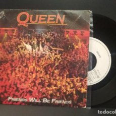 Discos de vinilo: QUEEN FRIENDS WILL BE FRIENDS SINGLE SPAIN 1986 PDELUXE. Lote 219137703