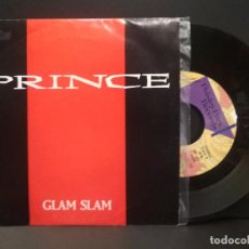 Discos de vinilo: PRINCE GLAM SLAM SINGLE SPAIN 1988 PDELUXE. Lote 219137818