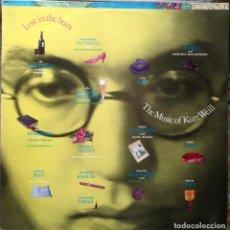 Discos de vinilo: LOST IN THE STARS. THE MUSIC OF KURT WEIL - LP - A&M RECORDS 1985 EDICIÓN ESPAÑOLA. Lote 219138487