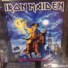 Disques de vinyle: IRON MAIDEN - THE BRITISH ARE COMING AGAIN -3 LP-. Lote 219142572