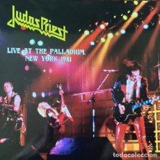 Discos de vinilo: JUDAS PRIEST – LIVE AT THE PALLADIUM, NEW YORK 1981 -LP-. Lote 289853638