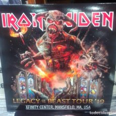 Disques de vinyle: IRON MAIDEN - LEGACY OF THE BEAST TOUR, MANSFIELD, 2019 - 3 LP-. Lote 219142695