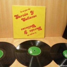 Discos de vinilo: GARZÓN Y COLLAZOS. LO MEJOR DE.. 3XLPS. MÚSICA DE COLOMBIA.. Lote 219146336