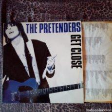 Discos de vinilo: THE PRETENDERS - GET CLOSE. Lote 219165477