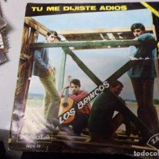 Discos de vinilo: LOS BRINCOS - TU ME DIJISTE ADIOS , ERES TU. Lote 219172202