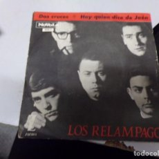 Discos de vinilo: LOS RELAMPAGOS - DOS CRUCES , HAY QUIEN DICE DE JAÉN. Lote 219172392