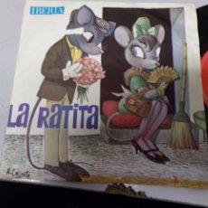 Discos de vinilo: LA RATITA - IBERIA. Lote 219176873