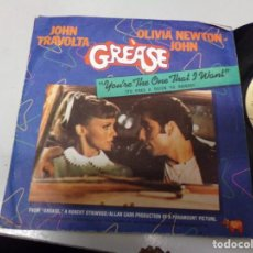 Discos de vinilo: GREASE - YOU'RE THE ONE THAT I WANT. Lote 219177222