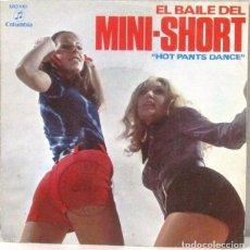 Discos de vinilo: TOMMY CLARK BAND - EL BAILE DEL MINI SHORT - SINGLE. Lote 219177296