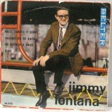 Discos de vinilo: JIMMY FONTANA - BACO TABACO Y VENUS - SINGLE. Lote 219177618