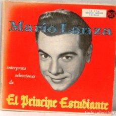 Discos de vinilo: MARIO LANZA - EL PRINCIPE ESTUDIANTE - SINGLE. Lote 219177981
