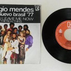 Disques de vinyle: 0920- SERGIO MENDES EL NUEVO BRASIL- VIN 7 SINGLE P G+ DIS VG. Lote 219183667