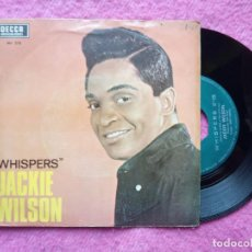 Discos de vinilo: SINGLE JACKIE WILSON - WHISPERS / THE FAIREST OF THEM ALL - ME 278 - SPAIN PRESS (VG+/NM). Lote 219183670