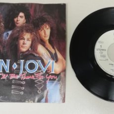 Discos de vinilo: 0920- BON JOVI I´LL BE THERE FOR YOU - VIN 7 SINGLE P G DIS VG+. Lote 246488985