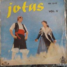 Discos de vinilo: JOTAS. VOLUMEN 2. JOSEFINA IBAÑEZ. Lote 219190446