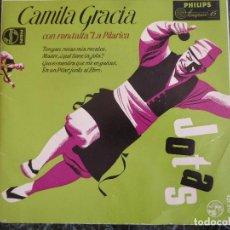 Discos de vinilo: CAMILA GRACIA CON RONDALLA LA PILARICA. PHILIPS. Lote 219191002