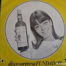 Discos de vinilo: DISCO SORPRESA FUNDADOR 1967 ISLAS CANARIAS, EL RELICARIO, MI JACA, CAPOTE DE GRANA Y ORO. Lote 219191582