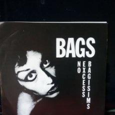Discos de vinilo: BAGS 1978 DANGERHOUSE RECORDS CALIFORNIA .NUEVO. Lote 219192275