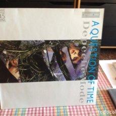 Discos de vinilo: DEPECHE MODE - AQUESTION OF TIME / MAXISINGLE 12' MUTE RECORDS 1986 GERMANY. NM - M. Lote 219193372