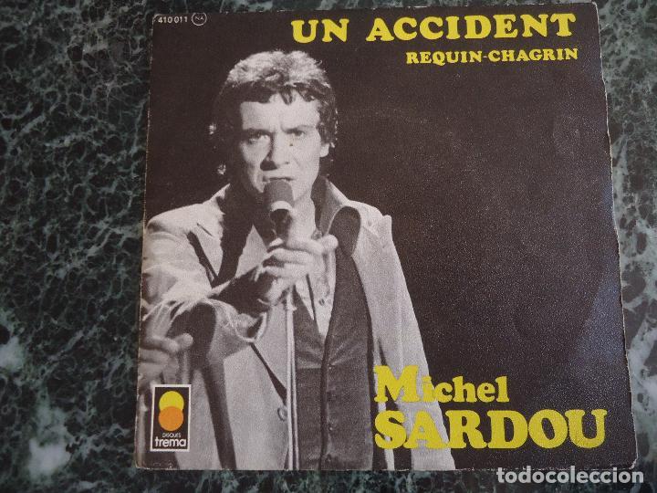 MICHEL SARDOU. MIREILLE DÀRC. DISQUES TREMA. (Música - Discos - Singles Vinilo - Canción Francesa e Italiana)