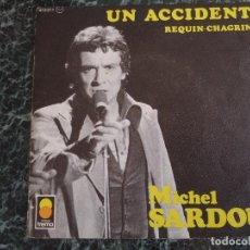 Discos de vinilo: MICHEL SARDOU. MIREILLE DÀRC. DISQUES TREMA.. Lote 219201718