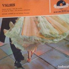 Discos de vinilo: VALSES/ MICHAEL LANNER CON SUS SOLISTAS VIENESES. Lote 219207466
