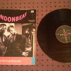 Discos de vinilo: LONDONBEAT - I VE BEEN THINKING ABOUT YOU - MAXI - SPAIN - BMG - PLS 594 - L -. Lote 219218586