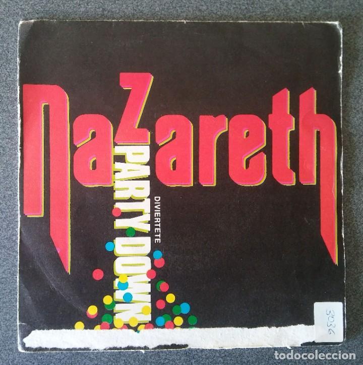 VINILO EP NAZARETH PARTY DOWN (Música - Discos de Vinilo - EPs - Pop - Rock - New Wave Internacional de los 80)