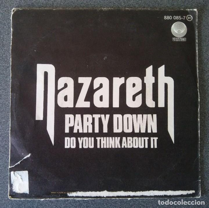 Discos de vinilo: Vinilo Ep Nazareth Party Down - Foto 3 - 219222607