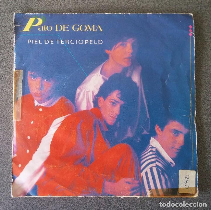 VINILO EP PATO DE GOMA PIEL DE TERCIOPELO (Música - Discos de Vinilo - EPs - Música Infantil)