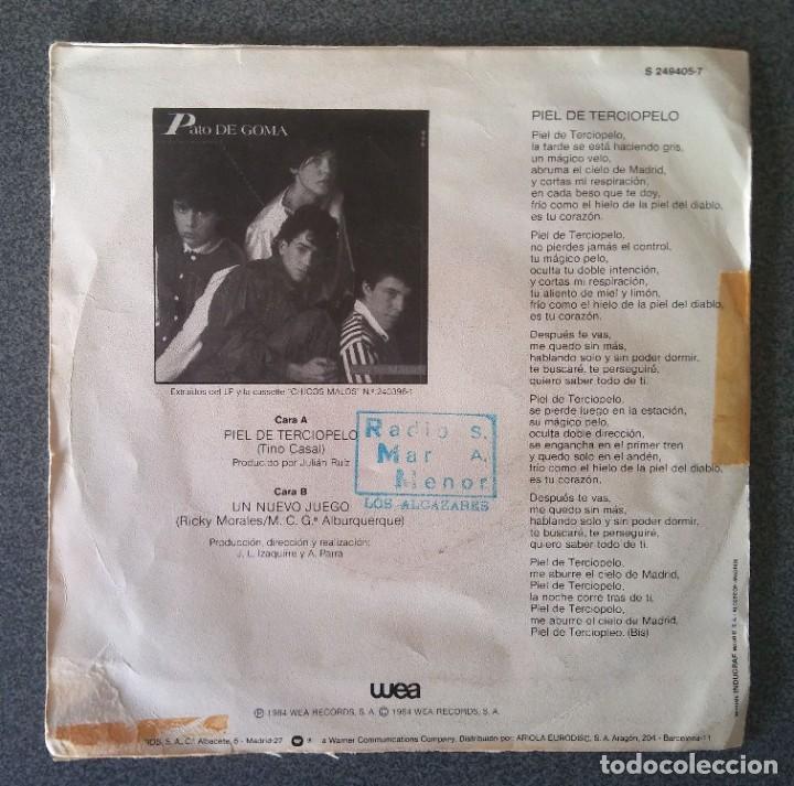 Discos de vinilo: Vinilo Ep Pato de Goma Piel de Terciopelo - Foto 3 - 219223121