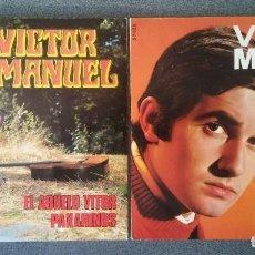 Discos de vinilo: LOTE VINILOS EP S VICTOR MANUEL. Lote 219223321