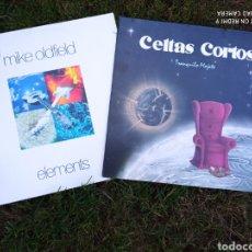 Discos de vinilo: 2 LPS MIKE OLDFIELD- CELTAS CORTOS.. Lote 219229151