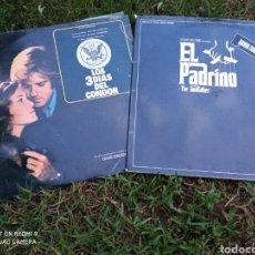 Discos de vinilo: 2 LPS BANDAS SONORAS.. Lote 219229445