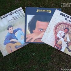 Discos de vinilo: LOTE TRES LPS JULIO IGLESIAS.. Lote 219229970