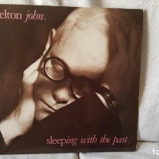Discos de vinilo: ELTON JOHN LP SLEEPING WITH THE PAST. Lote 219230506