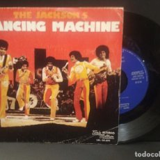 Discos de vinilo: THE JACKSON 5 DANCING MACHINE SINGLE SPAIN 1974 PDELUXE. Lote 219240016
