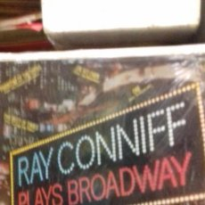 Discos de vinilo: RAY CONNIFF PLAYS BROADWAY .LP. Lote 219248257