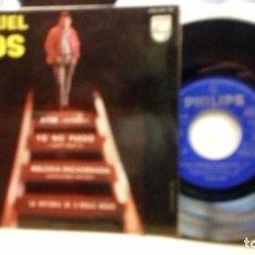 Discos de vinilo: MIGUEL RIOS .AYER (YESTERDAY) -TEMA DE THE BEATLES-Y 3 MAS. Lote 219248452
