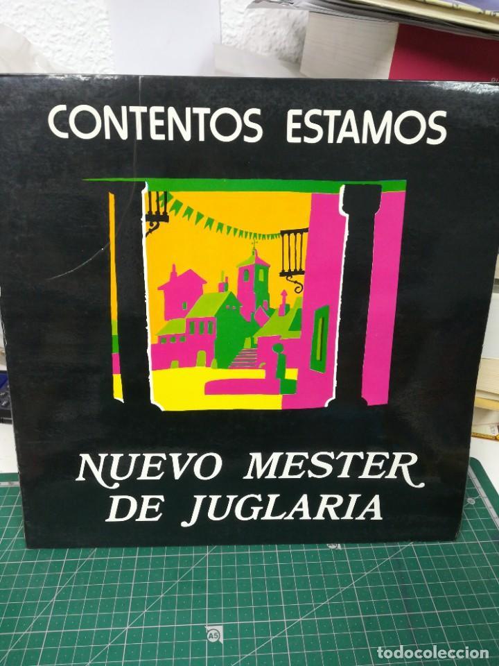 CONTENTOS ESTAMOS. NUEVO MESTER DE JUGARÍA. 1980 (Música - Discos de Vinilo - Maxi Singles - Étnicas y Músicas del Mundo)