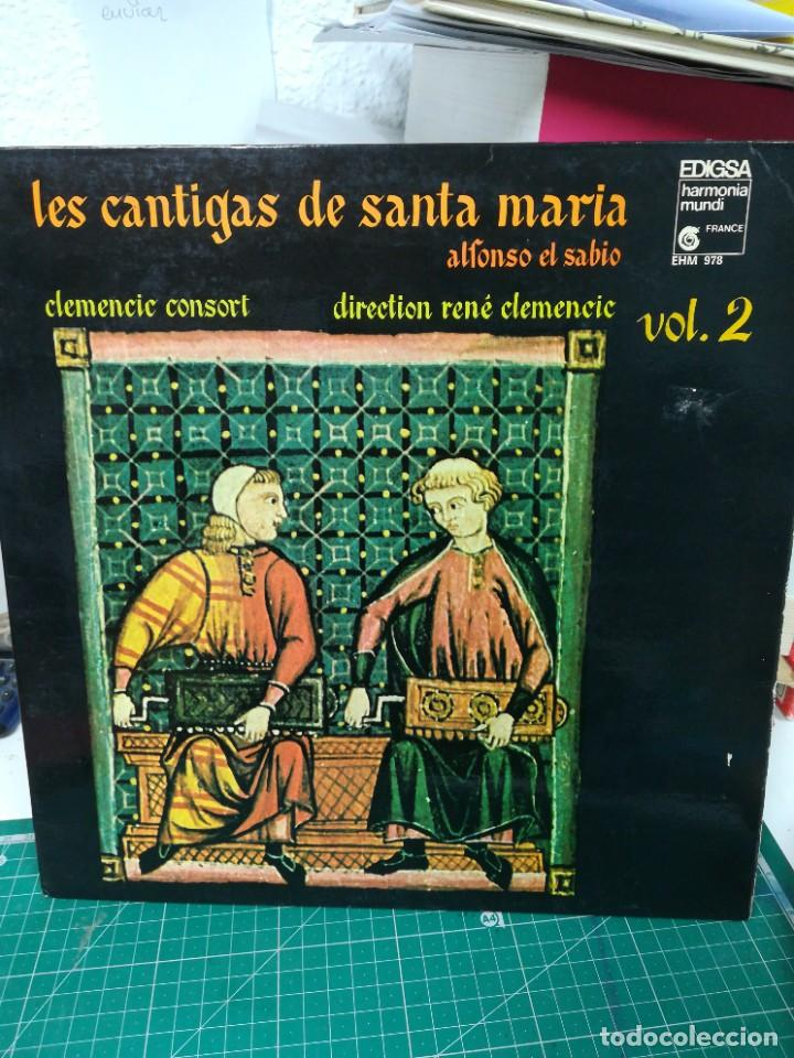 LAS CANTIGAS DE SANTA MARÍA. ALFONSO EL SABIO. VOL. 2 (Música - Discos de Vinilo - Maxi Singles - Étnicas y Músicas del Mundo)