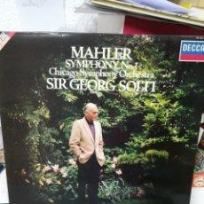 Disques de vinyle: MAHLER. SINFONÍA 1. SOLTI. Lote 219258141