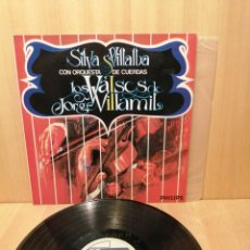 Discos de vinilo: SILVA VILLALBA CON ORQUESTA DE CUERDAS. LOS VALSES DE JORGE VILLAMIL. COLOMBIA.. Lote 219265161
