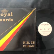 Discos de vinilo: ROYAL GUARDS – NEW BEAT IS CLEAN. Lote 219266042