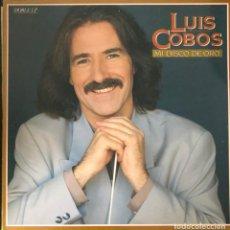 Discos de vinilo: LUIS COBOS, LP MI DISCO DE ORO (SOLO EL DISCO 1) CLASICOS HITS. Lote 219268541