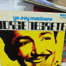 Discos de vinilo: J. NEGRETE. YO SOY MEXICANO.. Lote 219272343